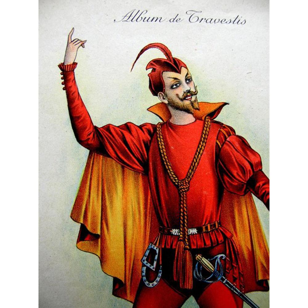 Wiener Museum 1920s French Masquerade Costume